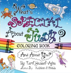 What's Special About Judy, the Coloring book by author Tarif Youssef-Agha