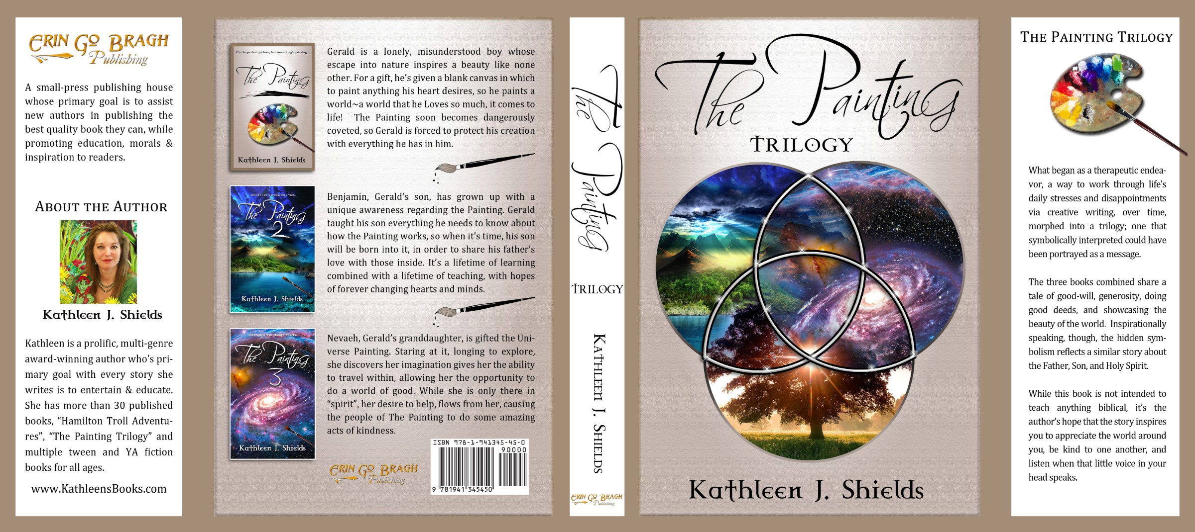 The Painting Trilogy Hardback book by author Kathleen J. Shields