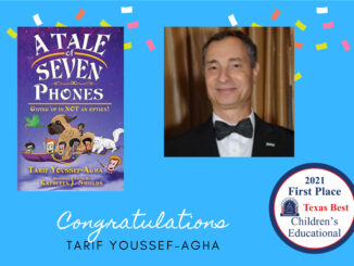 """2021 First Place Children's Educational """"A Tale of Seven Phones"""" Tarif Youssef-Agha"""