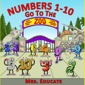 Numbers 1-10 Go to the Zoo