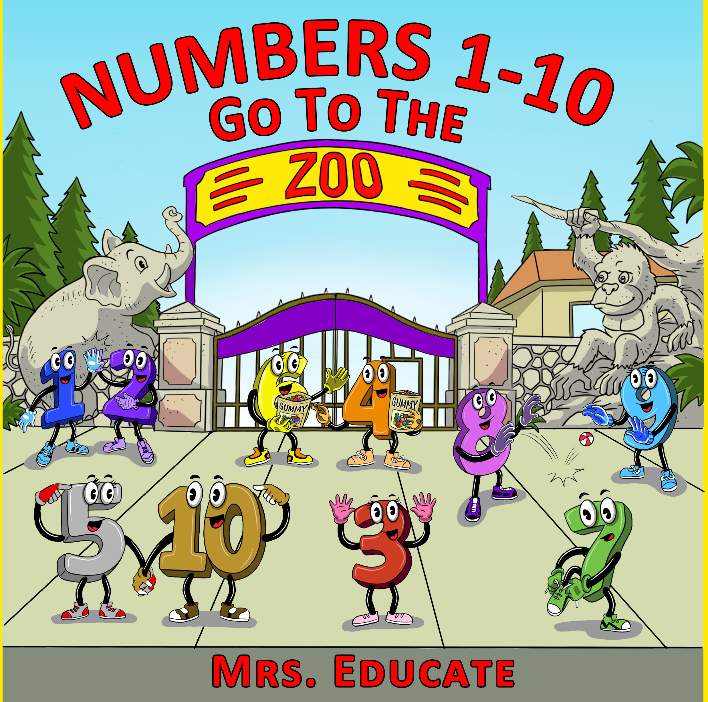 numbers 1-10 cover