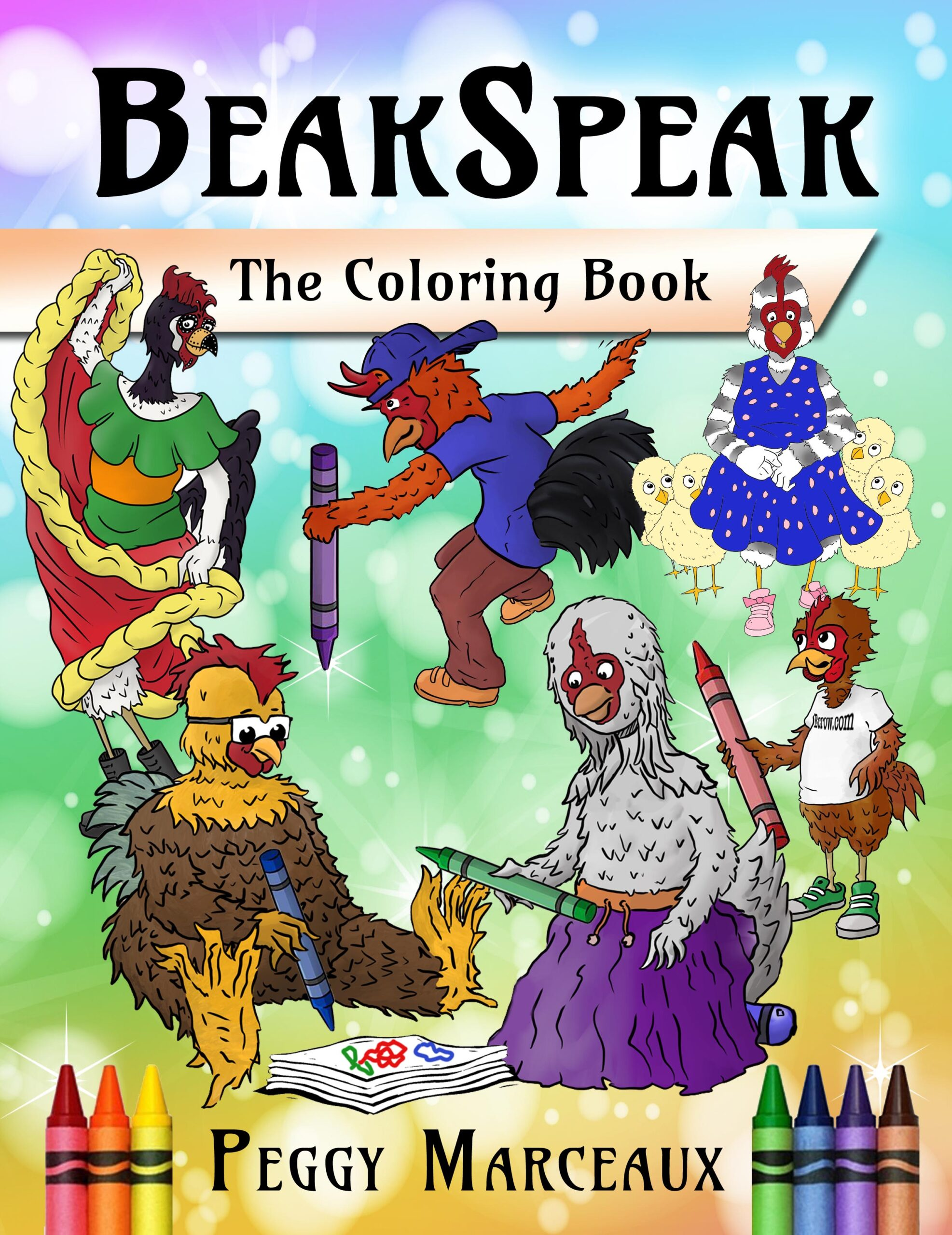 BeakSpeak: The Coloring Book by author Peggy Marceaux